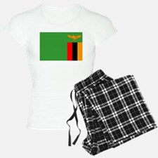 Zambia Flag Pajamas