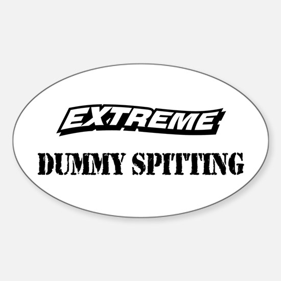Extreme Baby Sports Oval Decal