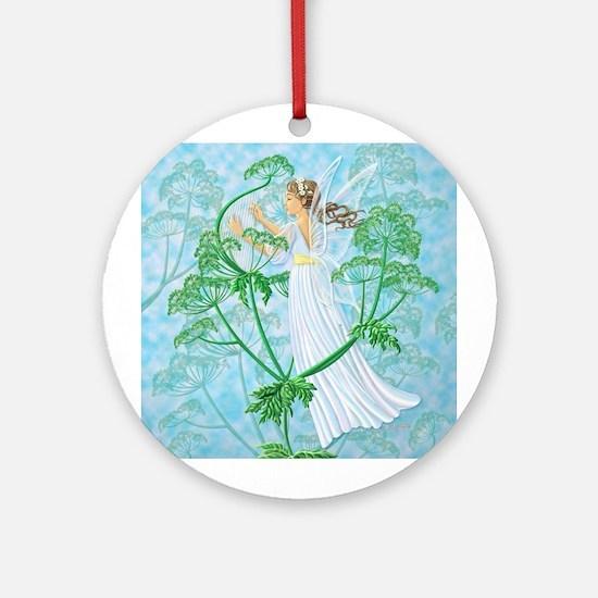 Fairy Music Ornament (Round)