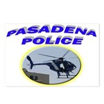 Pasadena Police Helicopter Postcards (Package of 8