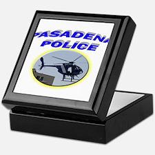 Pasadena Police Helicopter Keepsake Box