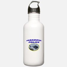 Pasadena Police Helicopter Water Bottle