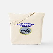 Pasadena Police Helicopter Tote Bag