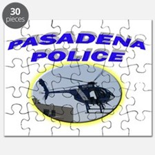 Pasadena Police Helicopter Puzzle