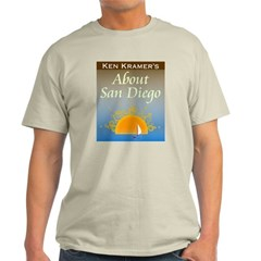 About San Diego Mens Gray Shirt