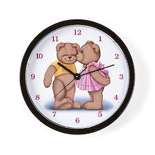 Teddy Love Wall Clock