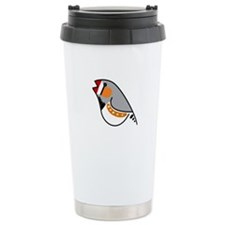 Zebra Finch Travel Mug