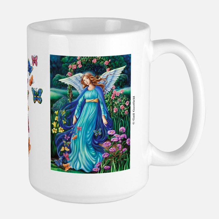 Garden Angel Large Mug