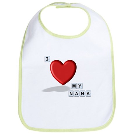 Love Nana Bib