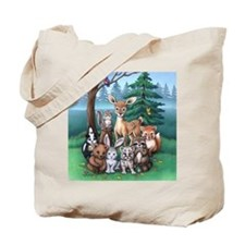 Forest Family Tote Bag