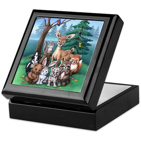 Forest Family Keepsake Box