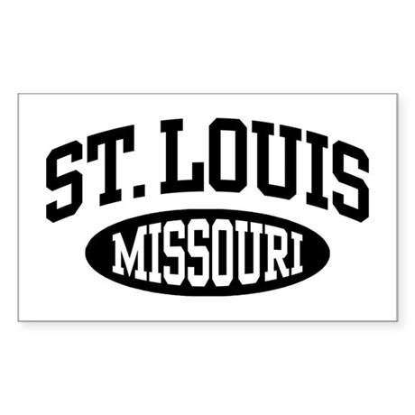 St. Louis Missouri Sticker (Rectangle)