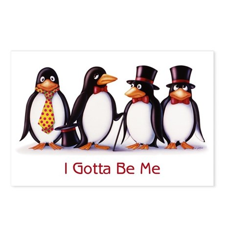 Gotta Be Me Postcards (Package of 8)