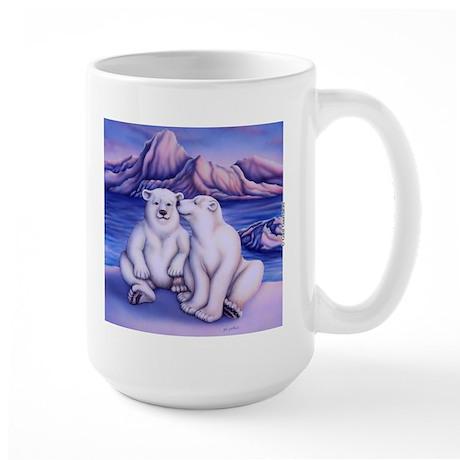 Polar Attraction Large Mug