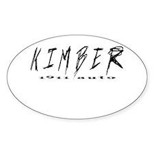 Kimber Auto Decal