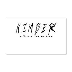 Kimber Auto 22x14 Wall Peel