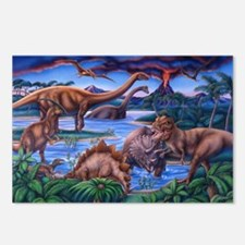 Funny Dinosaurs Postcards (Package of 8)