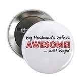 Awesome wife Buttons