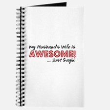 Husbands Wife Awesome Journal