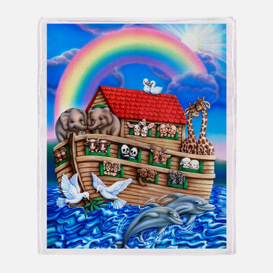 Noah's Ark Throw Blanket