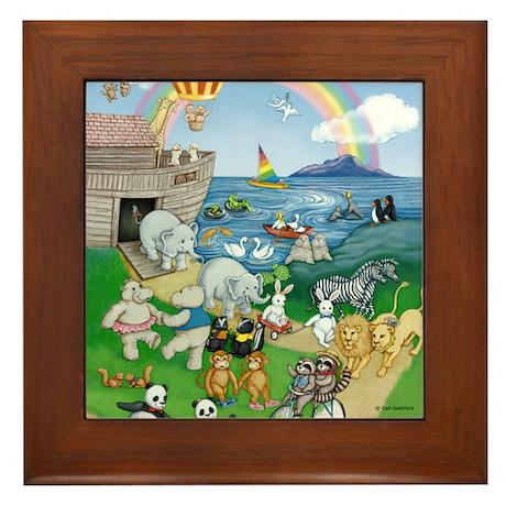Ark Animals Framed Tile