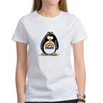 Gay Pride Girl Penguin Women's T-Shirt