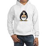 Gay Pride Girl Penguin Hooded Sweatshirt