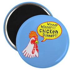 Winner Chicken Dinner Magnet