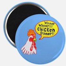 Winner Chicken Dinner Magnet