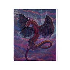 Unique Dragon Throw Blanket
