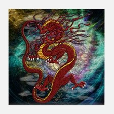 Chinese Dragon Tile Coaster