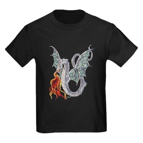 Dragon Fire Kids Dark T-Shirt