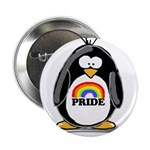 GLBT Penguin Button