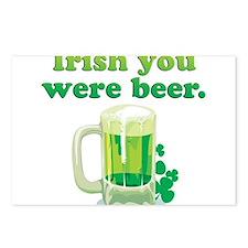Irish You Were Beer Postcards (Package of 8)