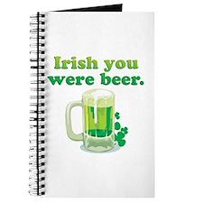 Irish You Were Beer Journal