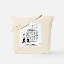 Skimming Profit At A Winery Tote Bag