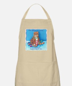 Might be Funny BBQ Apron