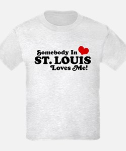 Somebody In St. Louis Loves Me T-Shirt