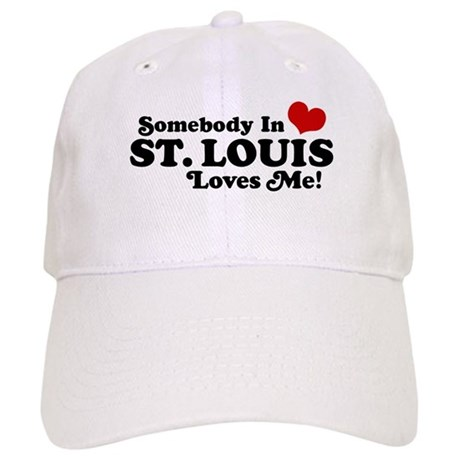Somebody In St. Louis Loves Me Cap