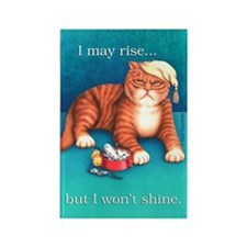 Rise & Shine Rectangle Magnet