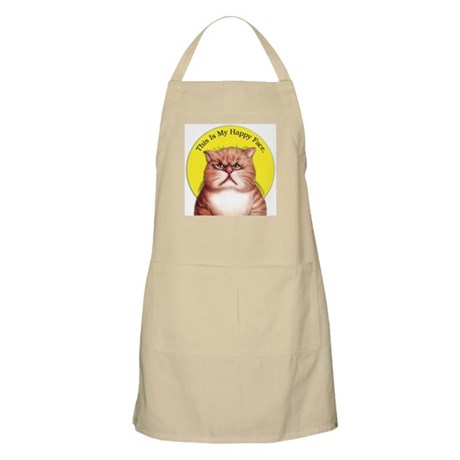 Happy Face Moods BBQ Apron