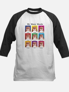 My Many Moods Kids Baseball Jersey