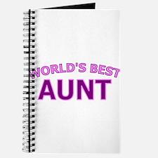 Worlds Best Aunt Journal