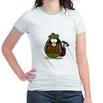 Golf Penguin Jr. Ringer T-Shirt