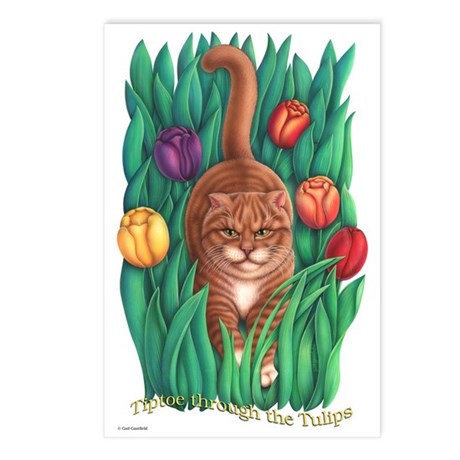 Tulips Postcards (Package of 8)