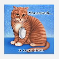 Mousework Tile Coaster