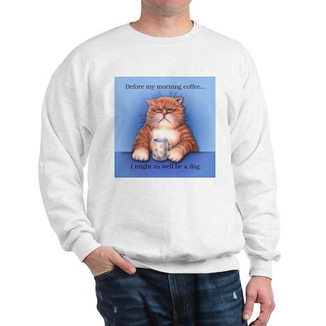 Coffee Cat Sweatshirt