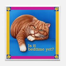 Bedtime Tile Coaster