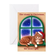Closer to Christmas Greeting Card