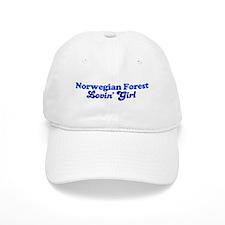 Norwegian Forest Cat Loving G Baseball Cap